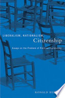 Liberalism Nationalism Citizenship