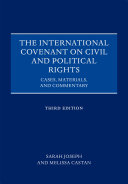The International Covenant on Civil and Political Rights: Cases, ...