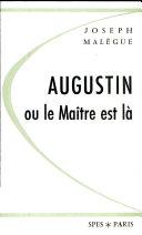 Augustin ou le Maitre est la