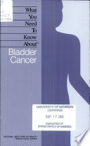 What You Need to Know about Bladder Cancer Book