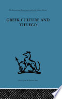 Greek Culture and the Ego
