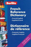 Berlitz French English Reference Dictionary