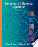 Elementary Differential Equations, with ODE Architect CD