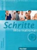 Schritte international. Kursbuch-Arbeitsbuch. Con CD Audio. Per le Scuole superiori
