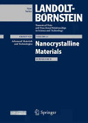 Nanocrystalline Materials