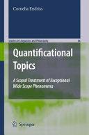 Quantificational Topics