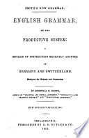 English Grammar on the Productive System Book