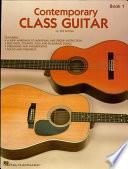 Contemporary Class Guitar  Music Instruction