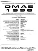 Proceedings of the ... International Conference on Offshore Mechanics and Arctic Engineering