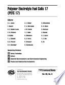 Polymer Electrolyte Fuel Cells 17  PEFC 17