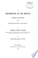 On Deformities of the Mouth