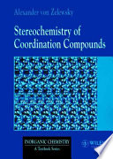 Stereochemistry of Coordination Compounds Book