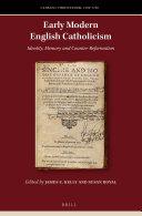 Early Modern English Catholicism
