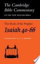 The Book Of The Prophet Isaiah Chapters 40 66