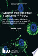 Synthesis and application of   configured  18 19F FDGs