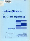 Continuing Education in Science and Engineering