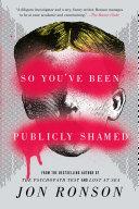 So You've Been Publicly Shamed Pdf