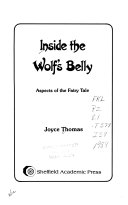Inside the Wolf s Belly Book