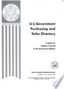 U.S. Government Purchasing and Sales Directory