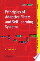 Principles of Adaptive Filters and Self learning Systems Book