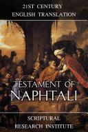 Testament of Naphtali