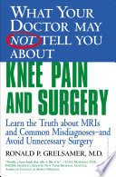 What Your Doctor May Not Tell You About Tm Knee Pain And Surgery
