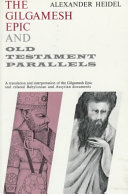Gilgamesh Epic and Old Testament Parallels