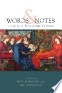 Words and Notes in the Long Nineteenth Century