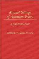 Musical Settings of American Poetry