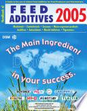 Handbook of Feed Additives 2005