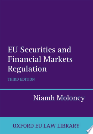 Download EU Securities and Financial Markets Regulation Free PDF Books - Free PDF