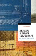 Pdf Reading Writing Interfaces Telecharger