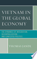 Vietnam In The Global Economy Book PDF