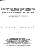 Energy Technologies to Reduce CO2 Emissions in Europe