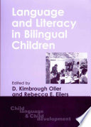 Language And Literacy In Bilingual Children