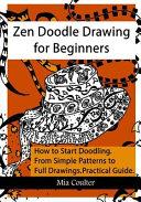 Zen Doodle Drawing for Beginners Book PDF