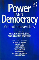 Power and Democracy