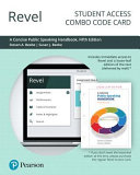 Revel for a Concise Public Speaking Handbook    Combo Access Card