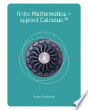 Finite Math and Applied Calculus