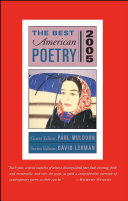 Pdf The Best American Poetry 2005 Telecharger