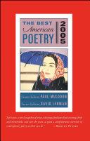 The Best American Poetry 2005
