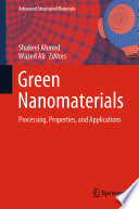 Green Nanomaterials Book