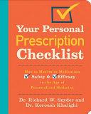 Your Personal Prescription Checklist