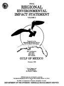Regional Environmental Impact Statement  Gulf of Mexico