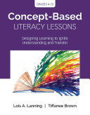 Concept-Based Literacy Lessons