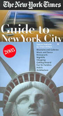The New York Times Guide to New York City 2005 Book PDF