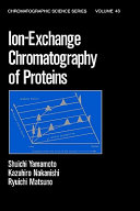 Ion Exchange Chromatography of Proteins