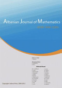 Albanian Journal of Mathematics