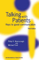 Talking with Patients Book PDF