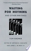 Waiting For Nothing And Other Writings PDF